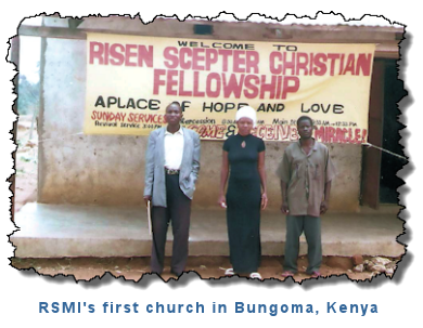 RSMI's first church in Kenya